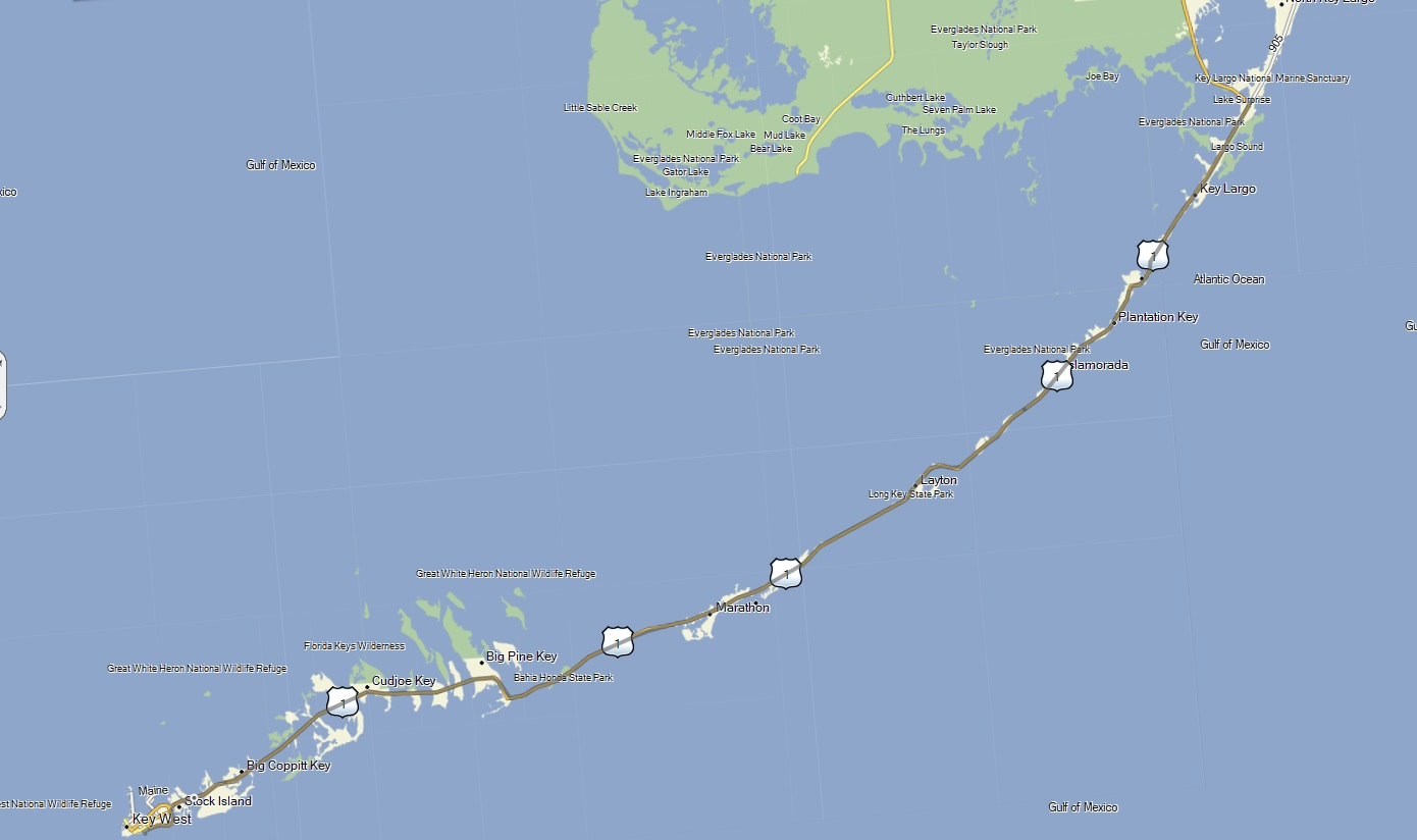 Rails To Trails Florida Map.Florida Keys Overseas Heritage Trail Cycle Across America